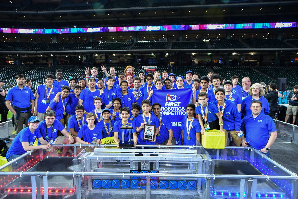 We won the Houston World Championship! Back-to-back World Champions and  undefeated in the 2018 competitive season! Many thanks to our incredible  alliance ...