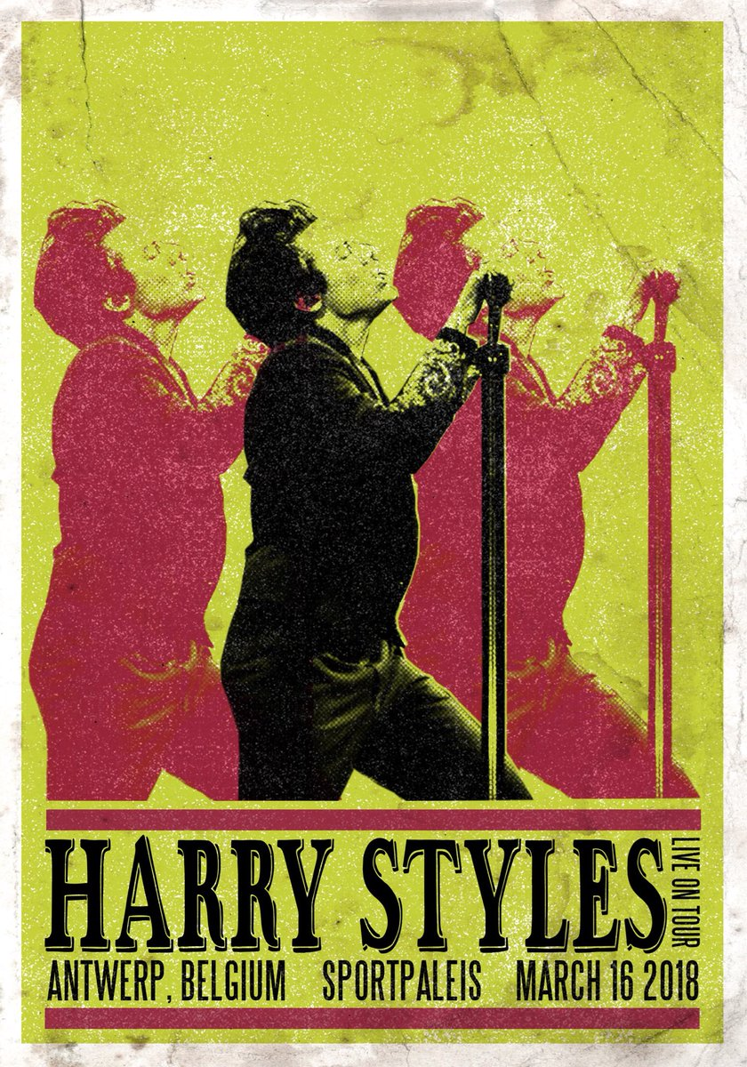 Lin On Twitter Vintage Tour Posters For Harry
