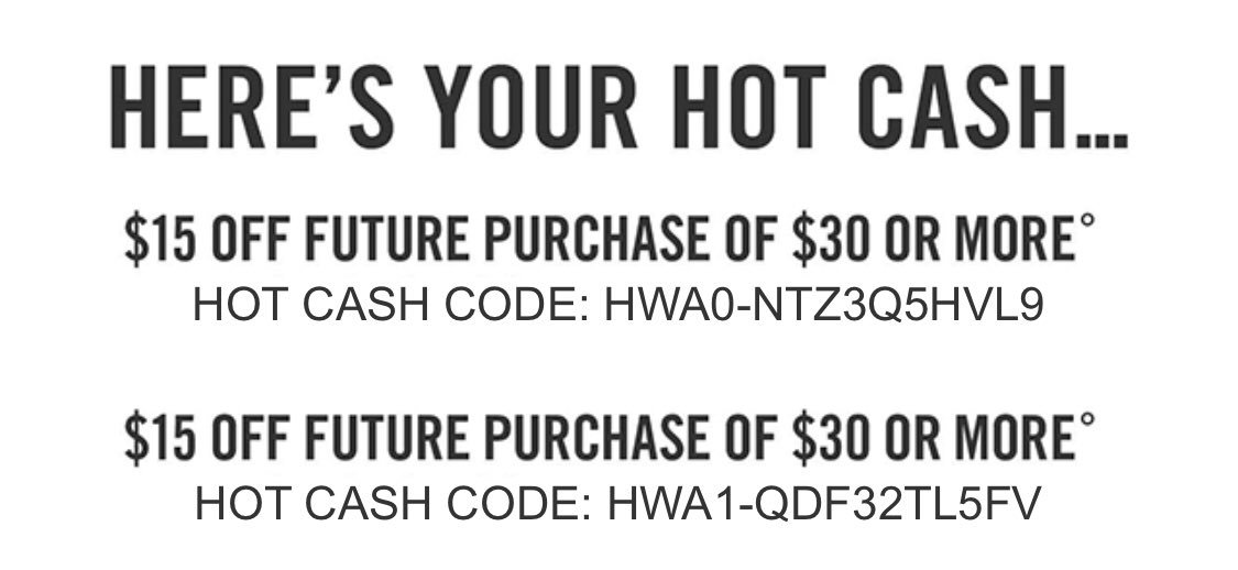 hot cash codes