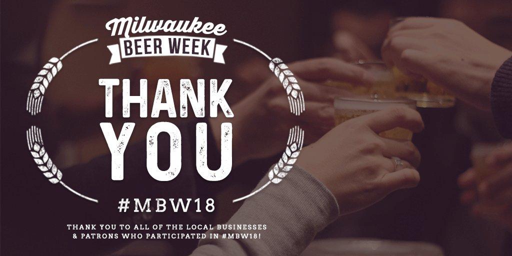 Milwaukee Beer Week on Twitter: