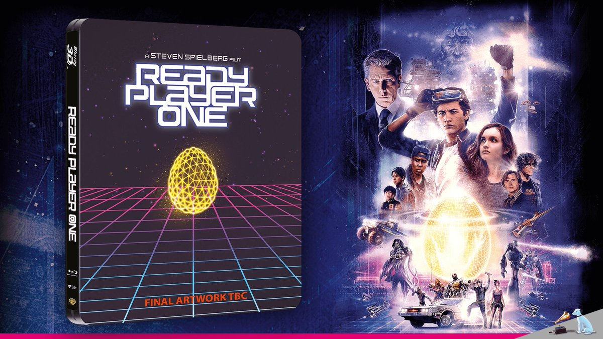 A limited edition Steelbook is on the way for #ReadyPlayerOne! Pre-order now in-store & online to guarantee your copy: https://t.co/qe8jmqYVbm