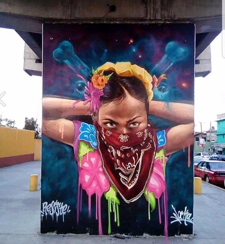 Under the bridge... #streetart #graffiti <br>http://pic.twitter.com/ZZZOuF3Ufa