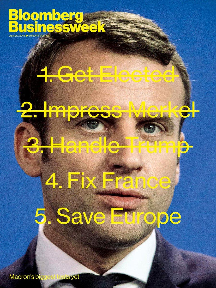 Emmanuel Macron wants to save Europe. He...