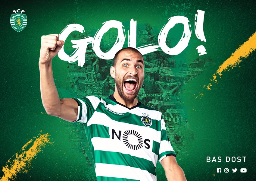 Sporting Clube de Portugal's photo on Bas Dost