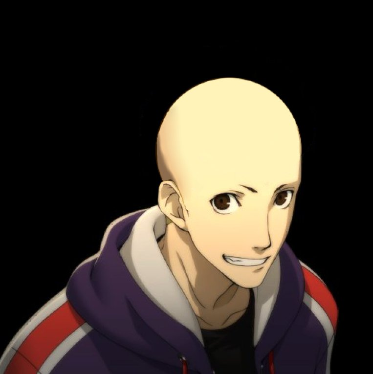 Making Your Favorite Characters Bald On Twitter Ryuji