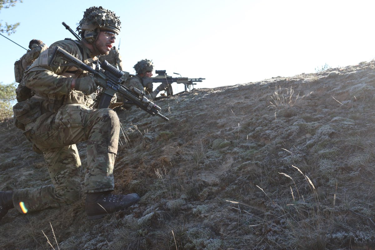 """The Royal Welsh on Twitter: """"Vidar Company from our Danish allies ..."""