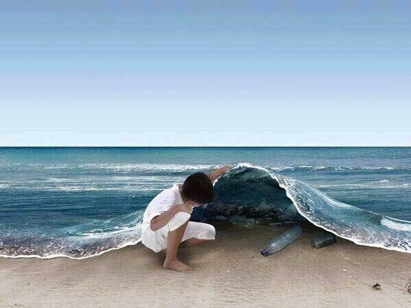 One picture can convey a thousand stories of pollution. #EarthDay #PlasticFree