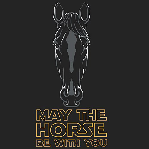 May the horse be with you.  #RuinAn80sQu...