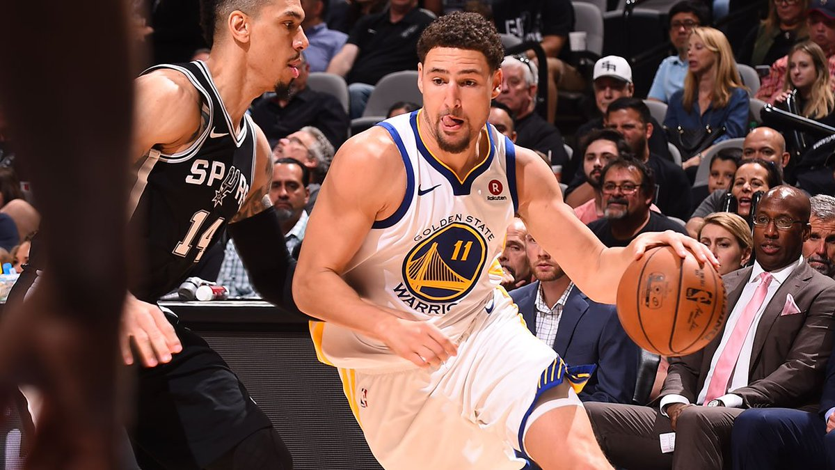 Second half starts NOW! #StrengthInNumbers 🏀 #NBAPlayoffs R1G4 at @Spurs 📺 #NBAonABC 📻 @957thegame