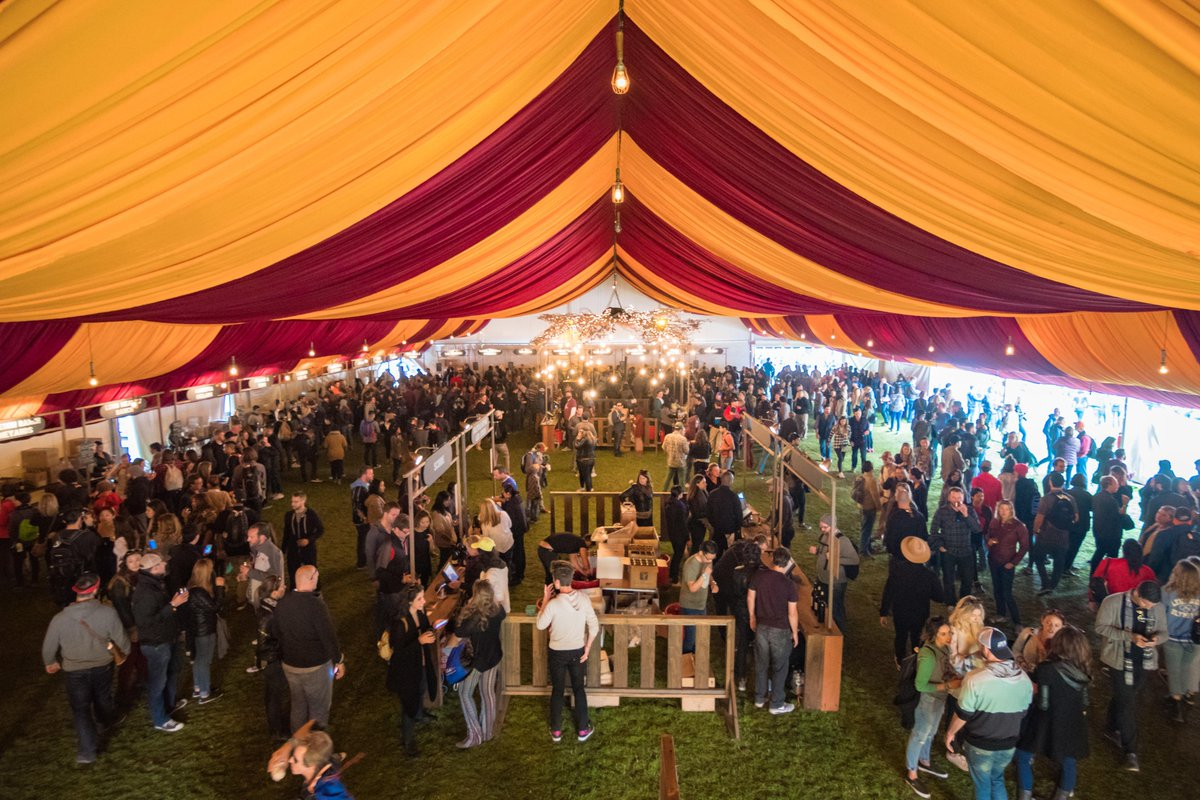 ranger dave wishes he was under the burgundy big top at wine lands. #outsidelands (📷 by @jorgphoto)