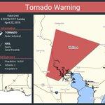 Image for the Tweet beginning: Tornado Warning including Wallace FL