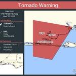 Image for the Tweet beginning: Tornado Warning including Wright FL,