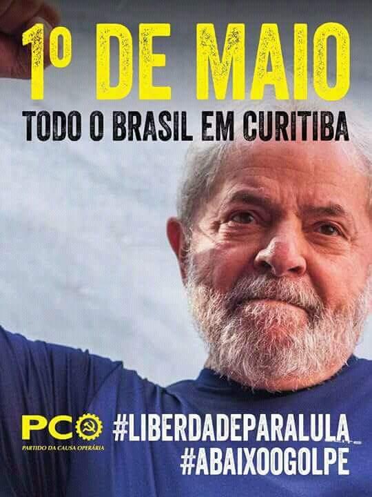 #AgoraÉComDatena DIA 1 DE MAIO  TDS A CU...