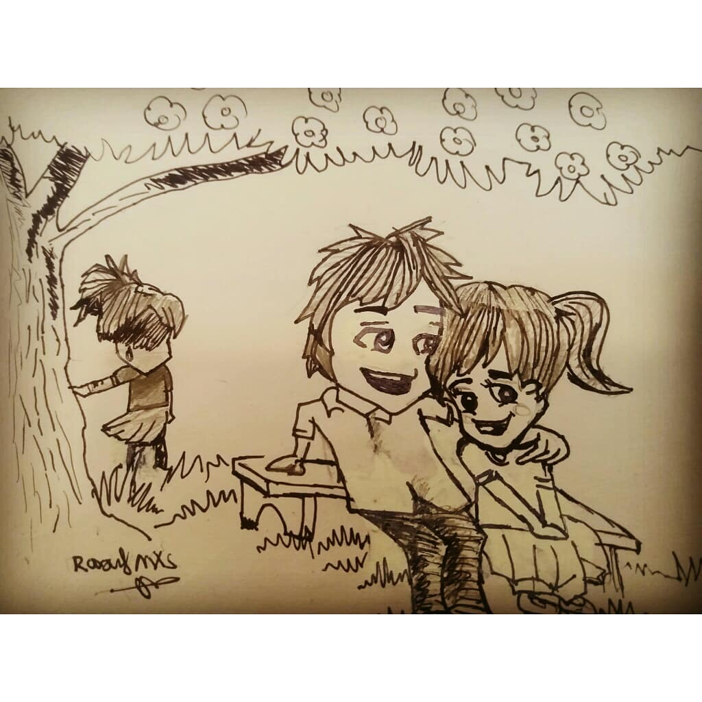 Raouf Mxs On Twitter My Drawings Of A Sad Love Story Tags