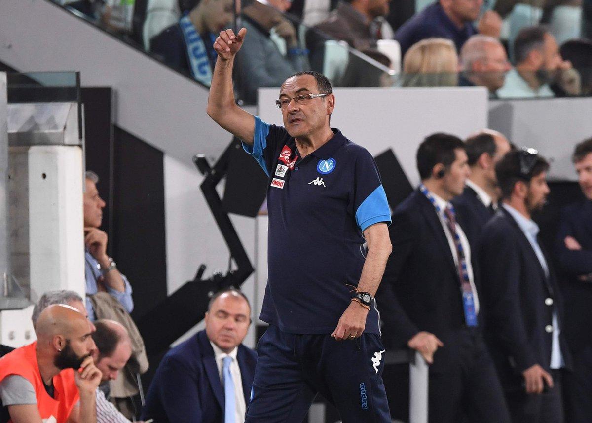 Official SSC Napoli's photo on #Sarri