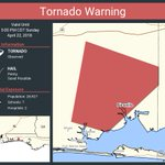 Image for the Tweet beginning: Tornado Warning including Niceville FL,