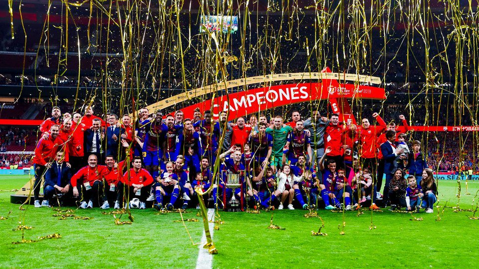 2️⃣4️⃣ hours ago... �� ���� #CopaBarça https://t.co/ZA8GAAeNom