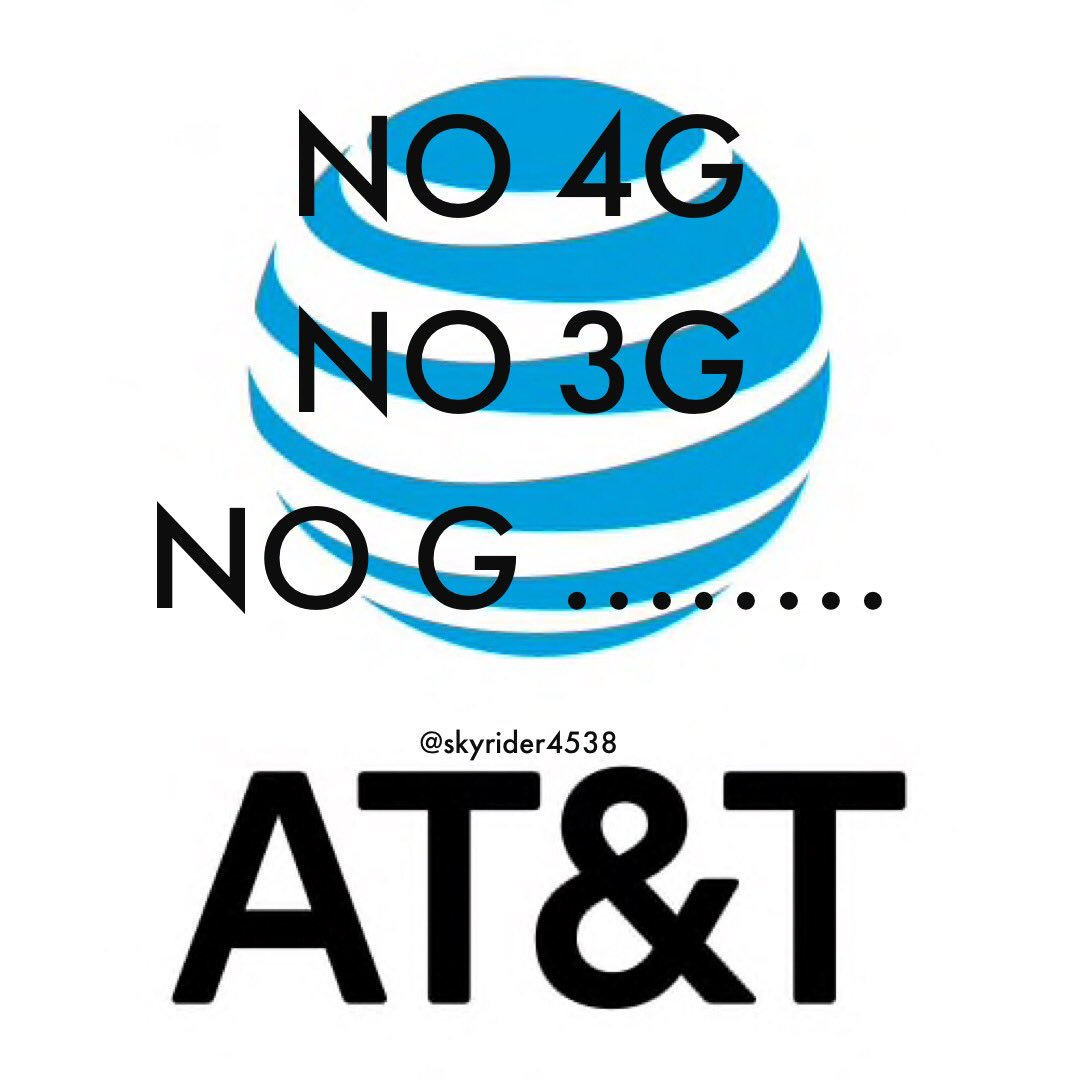 You wanna know how .@ATT .@ATTCares is man? There is no G spot ... No 4G, no 3G .... No G ..... it's a hoax! It's a #myth   #EarthDay18  #canyouhearmenow I want .@VerizonSupport back<br>http://pic.twitter.com/U3aPkBcLon