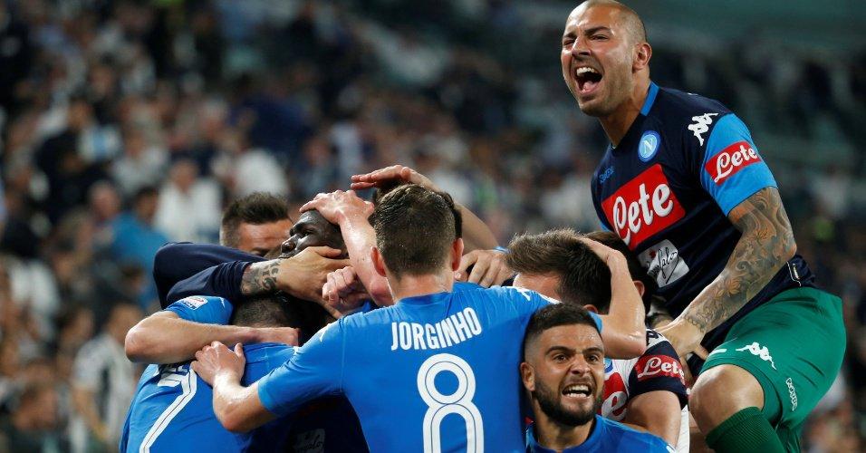 Dá para sonhar | Napoli vence Juventus no finzinho e segue vivo no Italiano https://t.co/OUhqECB3TL