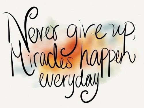 Believe that it can always happen! @marshawright #nevergiveup #believeinyou #miracleseveryday #ThinkBIGSundayWithMarsha<br>http://pic.twitter.com/9lhOESosYd