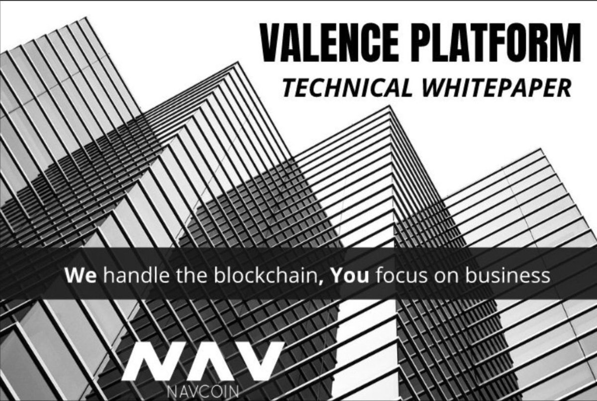 WE ARE HOURS AWAY FROM THE RELEASE OF THE @ValencePlatform  TECHNICAL WHITE PAPER. THIS IS 12 MONTHS IN THE MAKING THIS IS YUUUGE!!  $nav #NavCoin #BTC #xrp #dash #xmr #neo #xvg #tron #vertcoin #viacoin #deeponion #PIVX #btcp #privacy <br>http://pic.twitter.com/f5E9gUxoWq