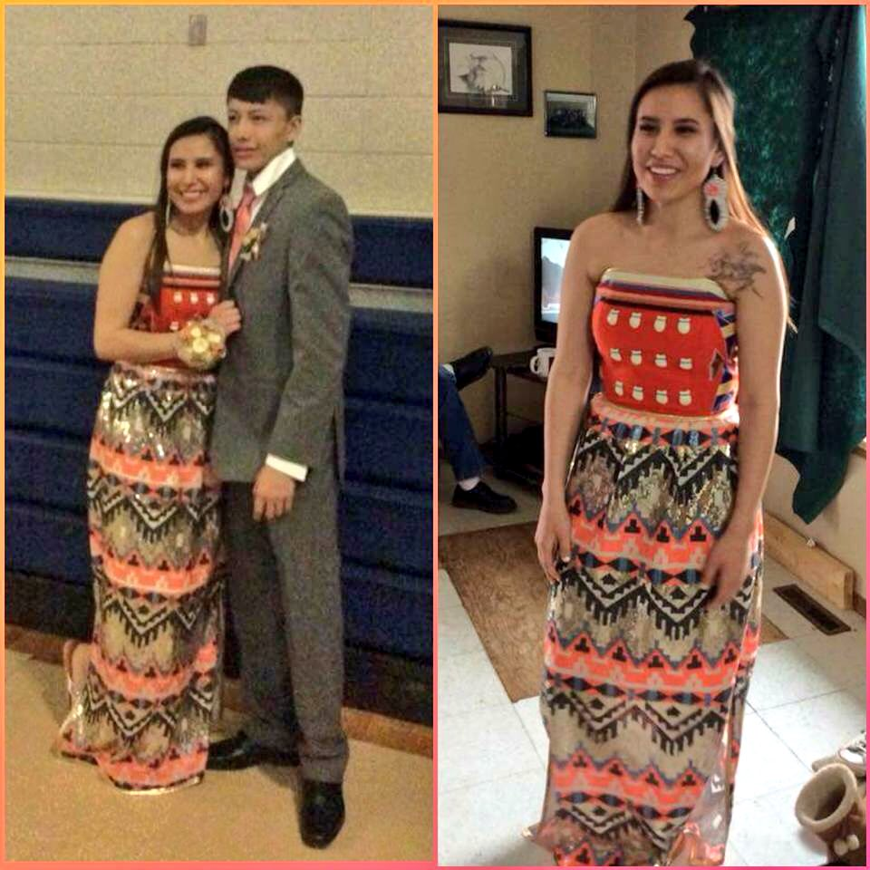 Native prom dresses from this past weekend, in north dakota, south ...