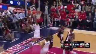 John Wall lobs it up, Bradley Beal does the rest!   #DCFamily https://t.co/Nr7mXuQXhB