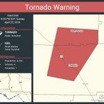 Image for the Tweet beginning: Tornado Warning including Colquitt GA,