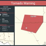 Image for the Tweet beginning: Tornado Warning continues for Damascus