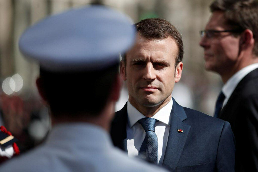 France's Macron says he has no 'plan B' for Iran nuclear deal https://t.co/N2tD2O6Rgl