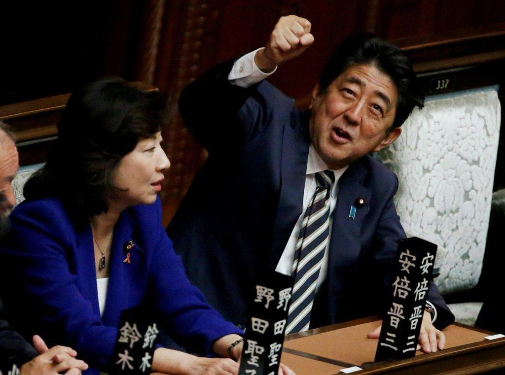 Despite plunging approval ratings, Japan's Abe popular among businesses https://t.co/SLapkHB2RT