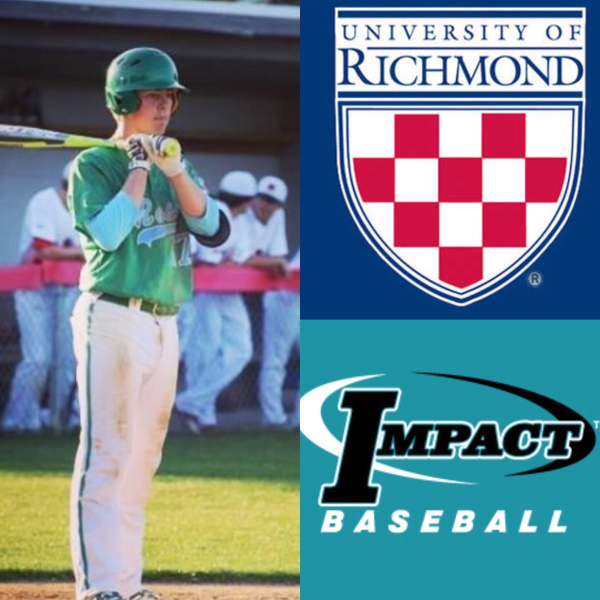 Congratulations Robby Wacker (2018 JH Rose High School Infielder) on his commitment to the University of Richmond.. #impact <br>http://pic.twitter.com/DSfM0UKl4L