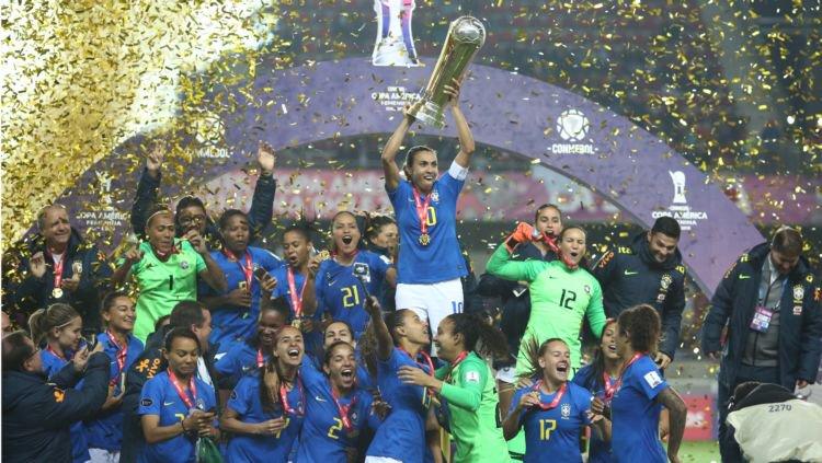 Com 100%, Brasil é hepta da Copa América Feminina e garante vaga em Tóquio-2020 https://t.co/Jw17JB5GzH