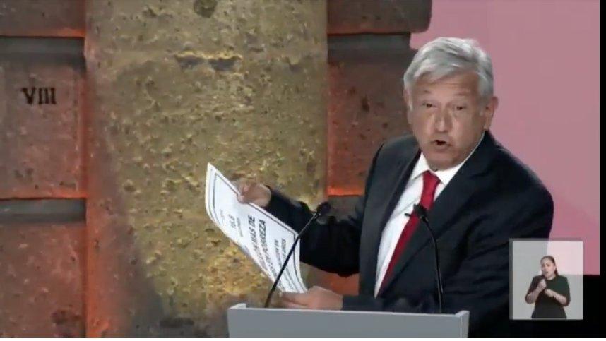'La amnistía ha sido malinterpretada. Debemos atender las causas que originaron la violencia': Andrés Manuel López Obrador (@lopezobrador_) #DebateINE en #AristeguiNoticias  👉 https://t.co/SaoLLTTsSK