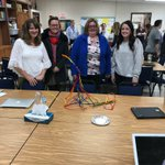 """Pleasure in the job puts perfection in the work."" -Aristotle 😀 Team building brings laughs, strengthens bonds, and is a great way to start a day! Who can build the tallest free standing pipe cleaner structure in 7 minutes? Let's see! 😆 #swd123"