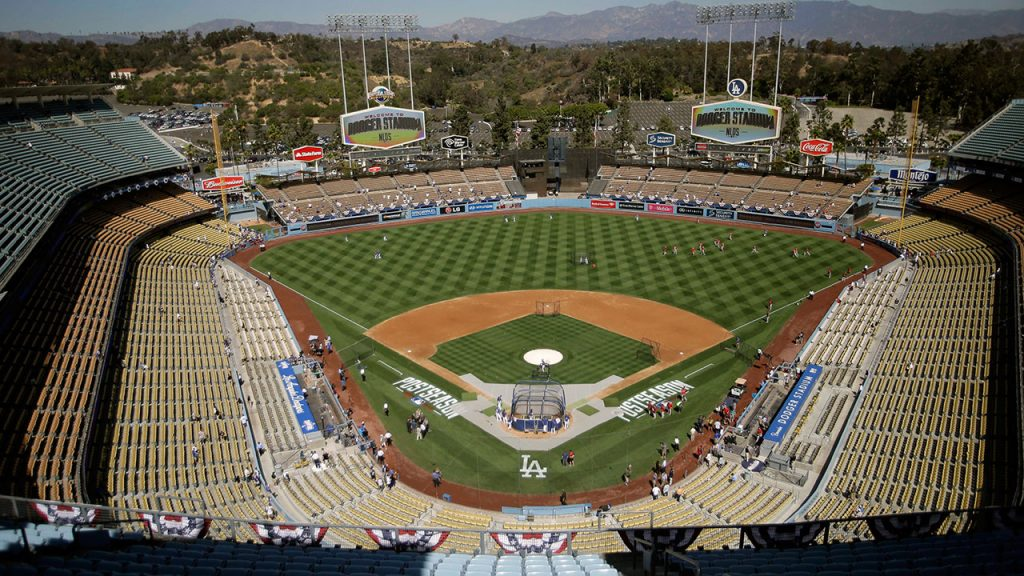 TUNE IN: We join Sunday Night Baseball in progress, as the Washington Nationals have a 3-0 lead over the Los Angeles Dodgers in the bottom of the sixth inning!