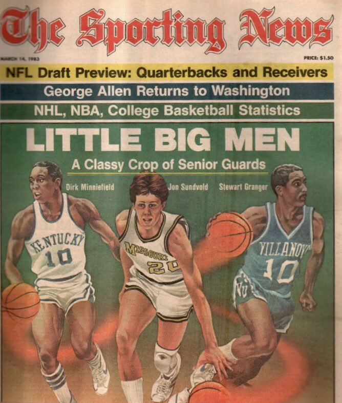 Going way back 1983 Sporting News featur...