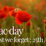 Image for the Tweet beginning: Monday Musings: ANZAC Day: For