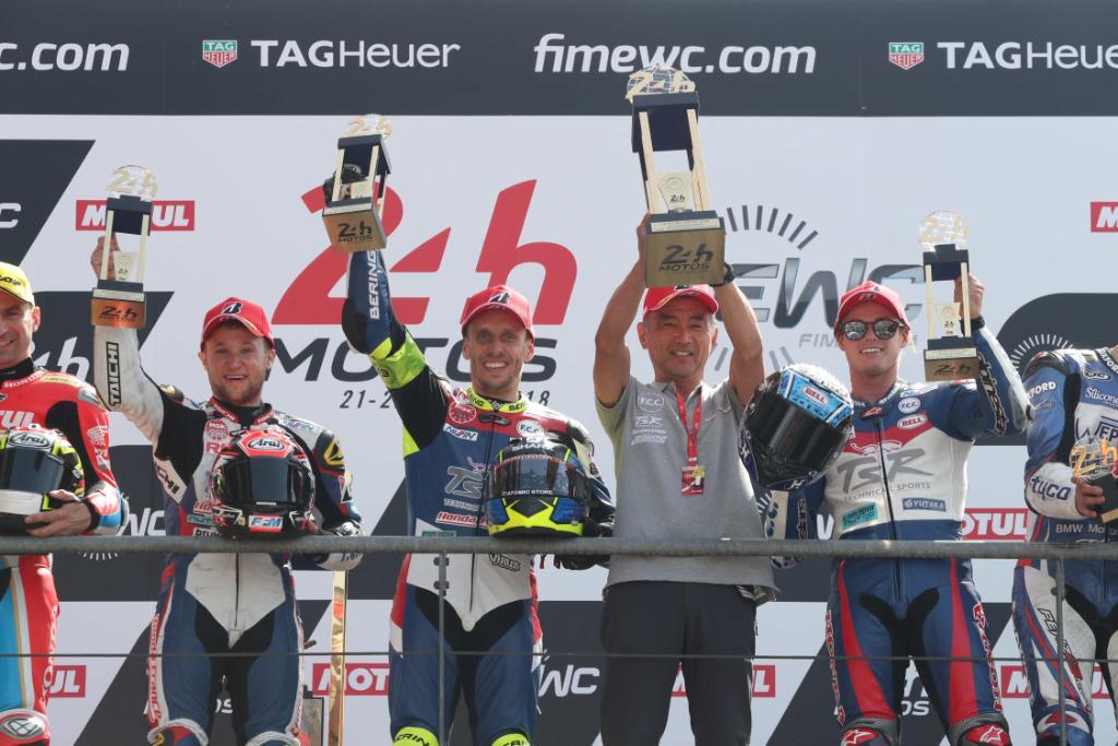 【週末の #ホンダモースポ 】#EWC ル・マン24時間耐久レースでHonda勢が1-2フィニッシュ達成しました! #5 F.C.C. TSR Honda Franceが優勝、#111 Honda Endurance Racingが2位に入り、Hondaとしては1986年以来の快挙となりました。 https://t.co/nMgj0q1zXZ