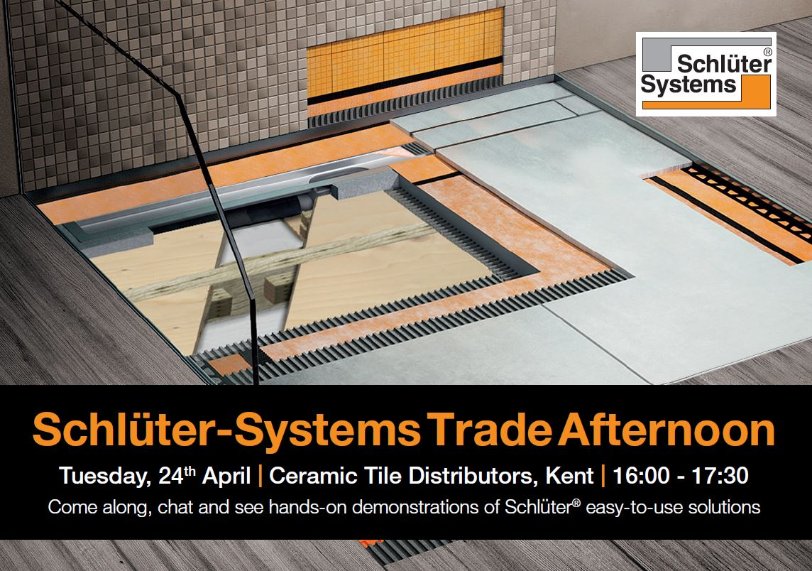 Schlter Systems Uk On Twitter Were At Ceramic Tile Distributors
