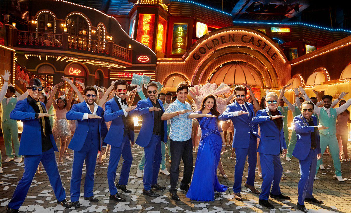 A glimpse of Paisa Yeh Paisa song from #TotalDhamaal. 🎼