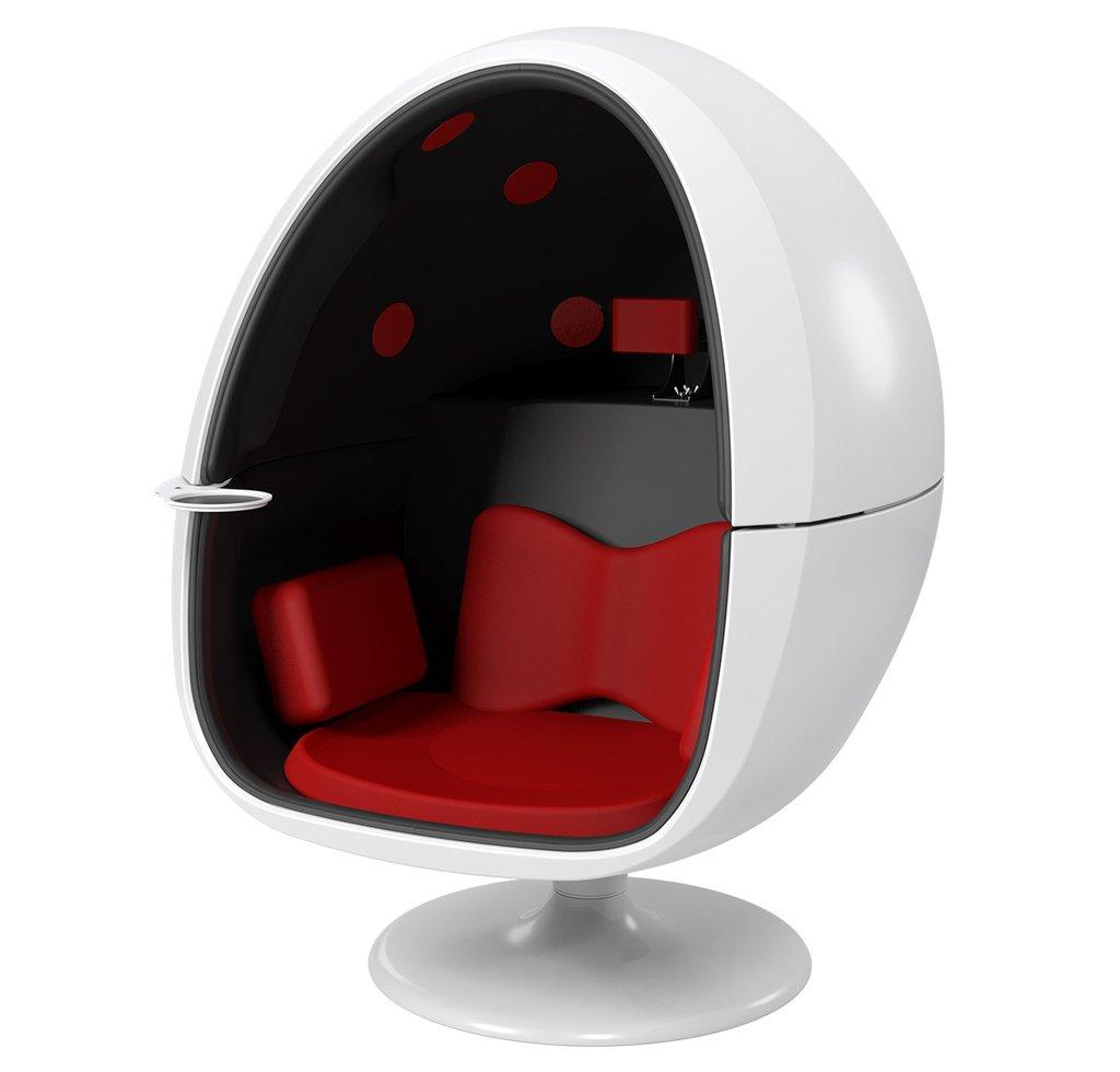 """アトモスも再生できる、""""座れる""""11.2chスピーカー「VRS-1」。98万円 https://t.co/nU7fHfKWNB"""