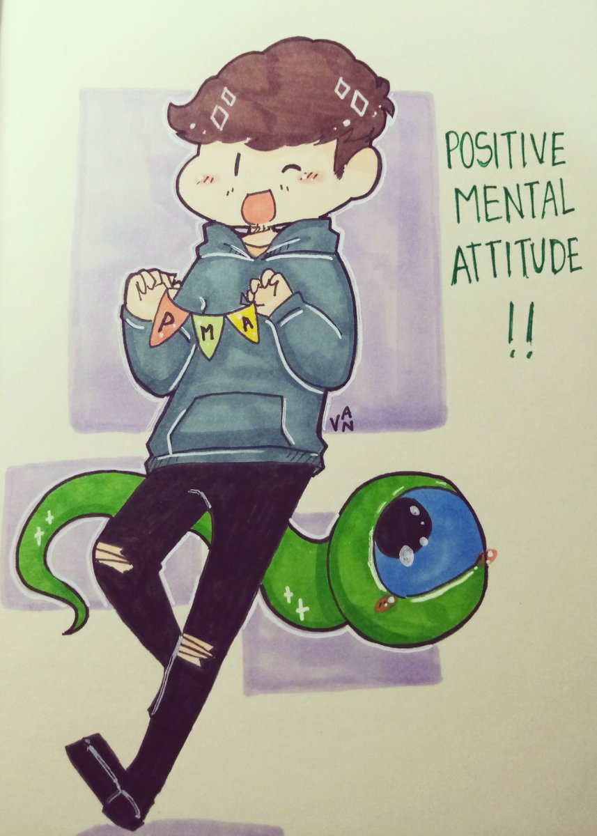 Did a redraw of my old doodle :D #jacksepticeye #septicart #PositiveMentalAttitude <br>http://pic.twitter.com/jzwrgc7yPB