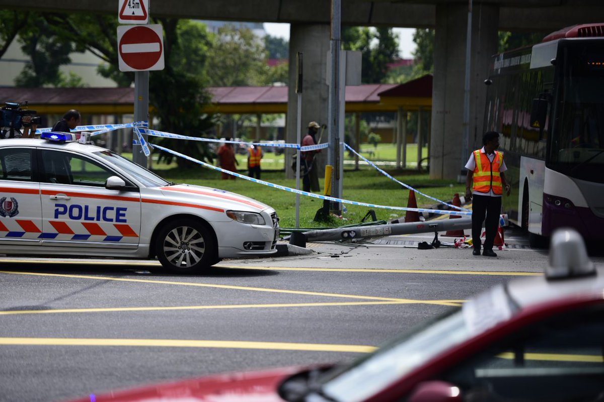 A fatal accident near yio chu kang mrt station has left 3 ...