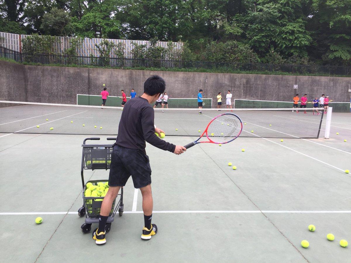"""テニスワークスKei on Twitter: """"【横浜リゾスポ】 そして今日は ..."""