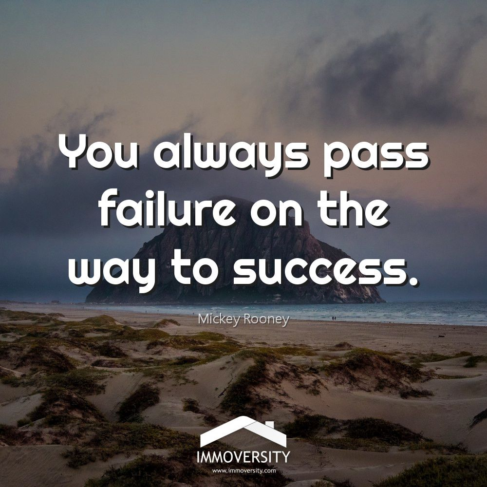 You always pass failure on the way to success.  #immoversity #realdevelopment #seminar #training #coaching #elearning #realestate #education #realtor #realestateagent #immobilier #vastgoedmakelaar #myrealestaterace #instagood #picoftheday #amazing #inspiration #entrepreneur<br>http://pic.twitter.com/LFrY4N6P4F