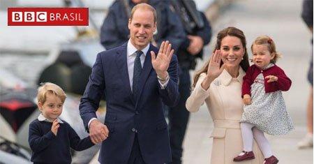 O terceiro filho do príncipe William e da duquesa de Cambridge, Kate Middleton, está a caminho. Middleton deu entrada no hospital St Mary's, em Londres, na manhã desta segunda-feira, 23, no início de seu trabalho de parto. O casal já é pai de George, 4, e Charlotte, 2.