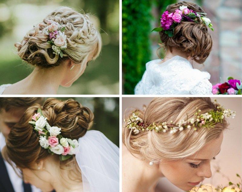 Hochzeitskiste On Twitter Eine Hochzeitsfrisur Mit Echten Blumen