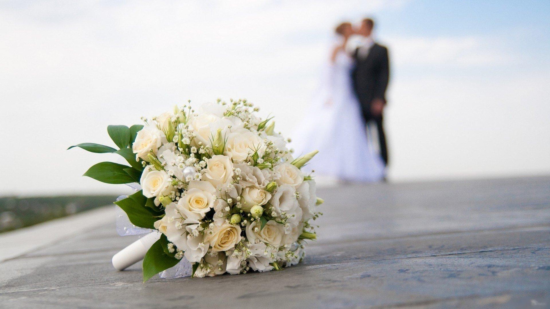 Свадебный букет в загс №1