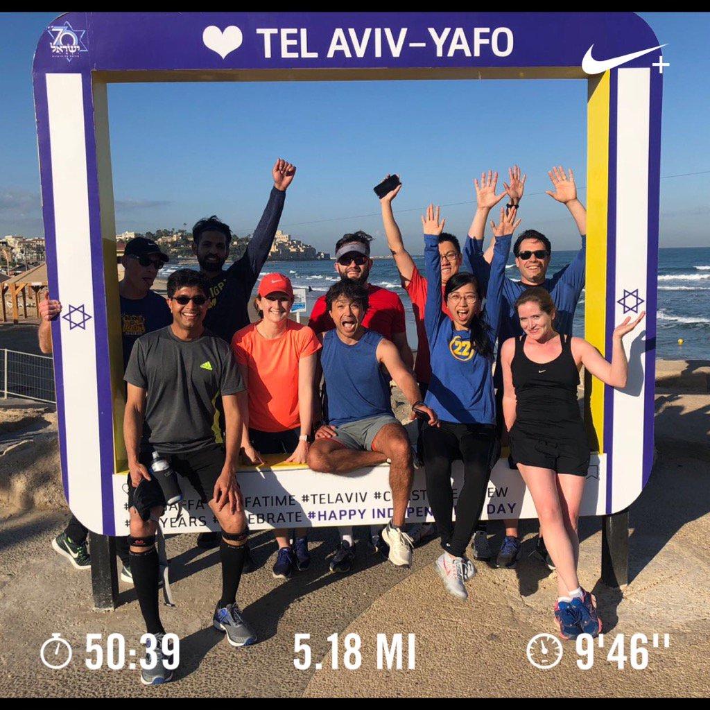 2018 Run 44, 5.18 miles to Jaffa Port, 8...